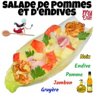 Salade de pommes et d'endives