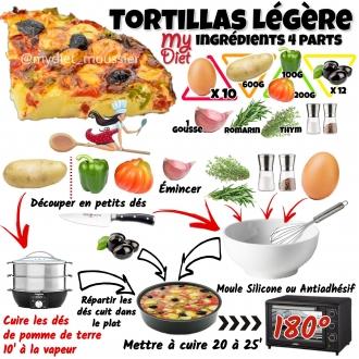 tortillas légères