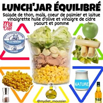 Lunch'jar équilibré